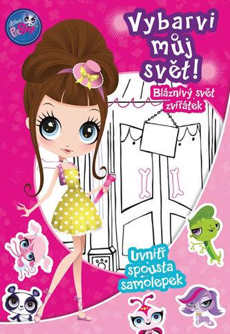 Littlest Pet Shop - Vybarvi můj svět 2! Bláznivý svět zvířátek