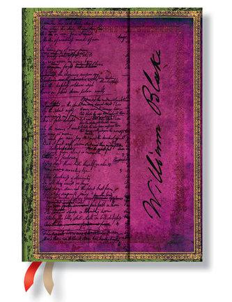 Diář 2015 - Blake, Poems midi (12-měsíční horizontal Week-at-a-Time)