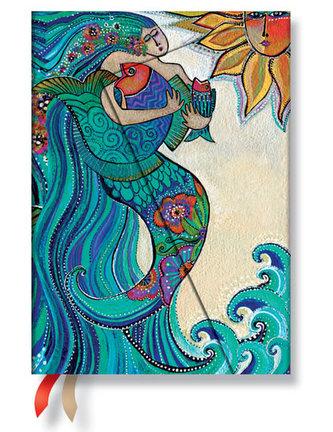 Diář 2015 - Ocean Song midi (12-měsíční horizontal Week-at-a-Time)