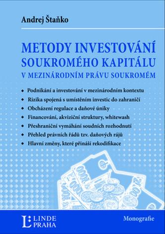 Metody investování kapitálu v mezinárodním právu soukromém