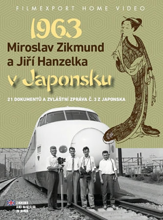 Zikmund a Hanzelka v Japonsku 1963 - 2DVD