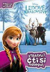 Ledové království Filmový příběh Vybarvuj, čti si, nalepuj!