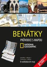 Benátky Průvodce s mapou National Geographic