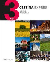 Čeština Expres 3 (A2/1) anglická + CD