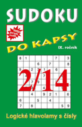 Sudoku do kapsy 2/2014 (zelená)