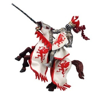 Kůň dračího krále červený