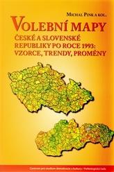 Volební mapy České a Slovenské republiky po roce 1993