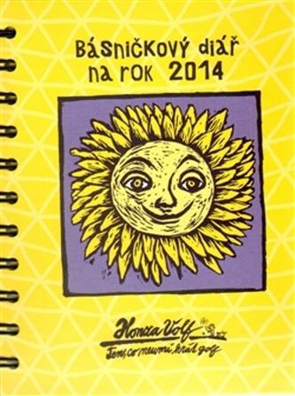 Básničkový diář na rok 2014 - Honza Volf