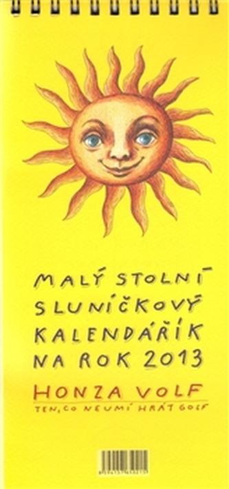 Malý stolní sluníčkový kalendářík na rok 2013