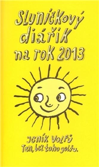 Sluníčkový diářík na rok 2013