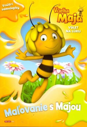 Včielka Maja Výlet na lúku Maľovanie s Majou