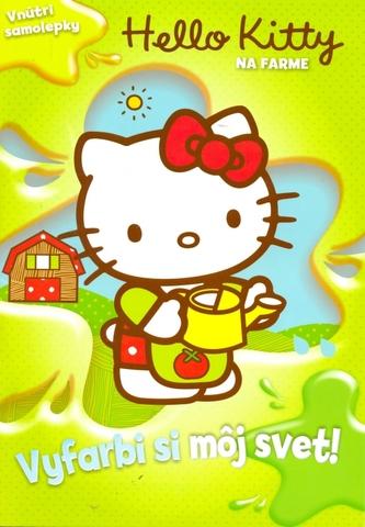 Hello Kitty Na farme Vyfarbi si môj svet!