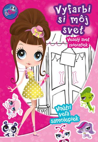 Littles Pet Shop Veselý svet zvieratiek Vyfarbi si môj svet!