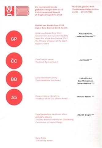 25. mezinárodní bienále grafického designu Brno 2012