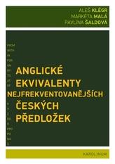 Anglické ekvivalenty nejfrekventovanějších českých předložek