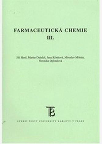 Farmaceutická chemie III