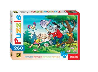 Puzzle 260 Jen počkej, zajíci! - Jde se na motýli