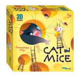 3D hra Kočka a myšky Nástarahy sýrové pyramídy