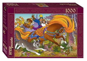 Puzzle 1000 Ivan Carevič a Šedý vlk