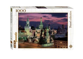 Puzzle 1000 Moskva:Rudé náměstí