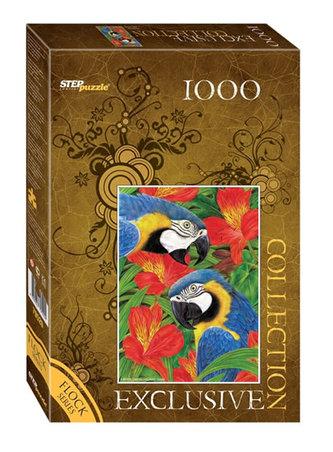 Puzzle 1000 Papoušci (sametová kolekce)