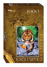 Puzzle 1000 Tygr (sametová kolekce)