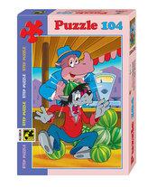 Puzzle 104 Jen počkej, zajíci! - Osudový meloun