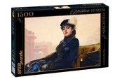 Puzzle 1500 Kramskoj Neznámá (ze sbírek ruských muzeí)