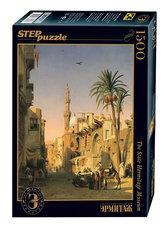Puzzle 1500 Marilia Pohled na ulici Ezbekia v Káhiře (ze sbírek ruských muzeí)