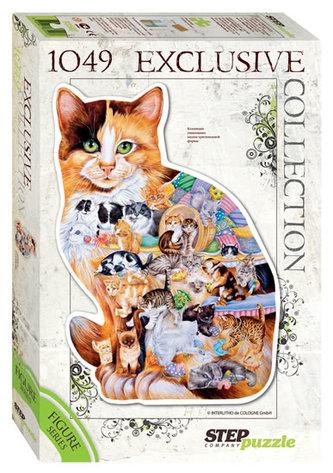 Puzzle 1049 Kočka (obrysové puzzle)