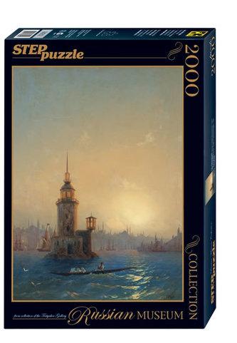 Puzzle 2000 Ajvazovskij Leandrová věž v Konstantinopolu (ze sbírek ruských muzeí)