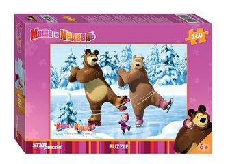 Puzzle 260 Máša a Medvěd