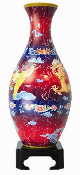 Plastic Puzzle Váza 160 Tančící drak, létající Fénix