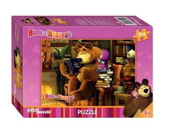 Puzzle 104 Máša a Medvěd