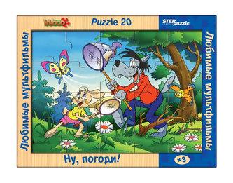 Hra ze dřeva Dřevěné puzzle 20 Jen počkej, zajíci!