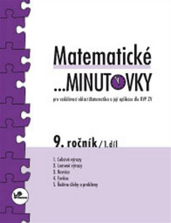 Matematické minutovky 9. ročník / 1. díl - Miroslav Hricz