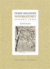 České grafické novoročenky