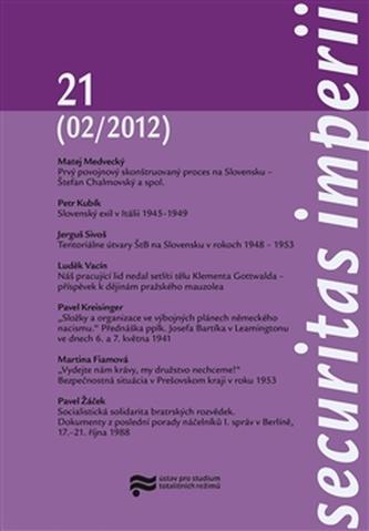 Securitas Imperii 21 (02/2012)