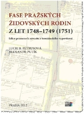 Fase pražských židovských rodin z let 1748 – 1749 (1751)