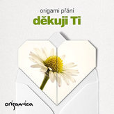 Origami přání - Děkuji Ti