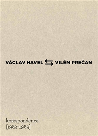 Václav Havel – Vilém Prečan: Korespondence 1983–1989