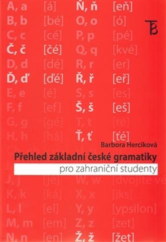 Přehled základní české gramatiky pro zahraniční studenty