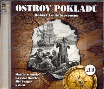 Ostrov pokladů - 2CD (čte Martin Stránský a další)