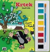 Krtek - Omalovánky s barvami A5