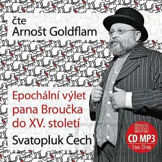 Epochální výlet pana Broučka - CDmp3 (čte Arnošt Goldflam)