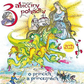 Babiččiny pohádky o princích a princeznách 1+2 - 2 CD (Čte Hana Krtičková)