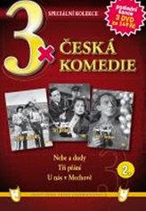 3x DVD - Česká komedie  2.