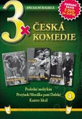 3x DVD - Česká komedie  4.
