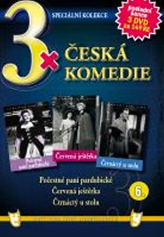 3x DVD - Česká komedie 6. - neuveden