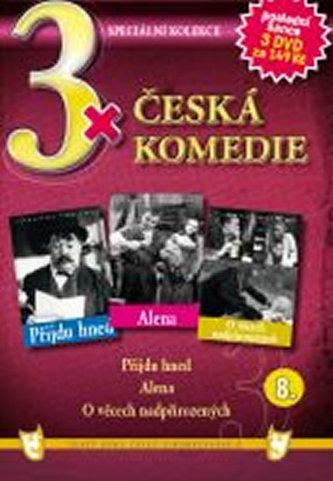 3x DVD - Česká komedie 8. - neuveden